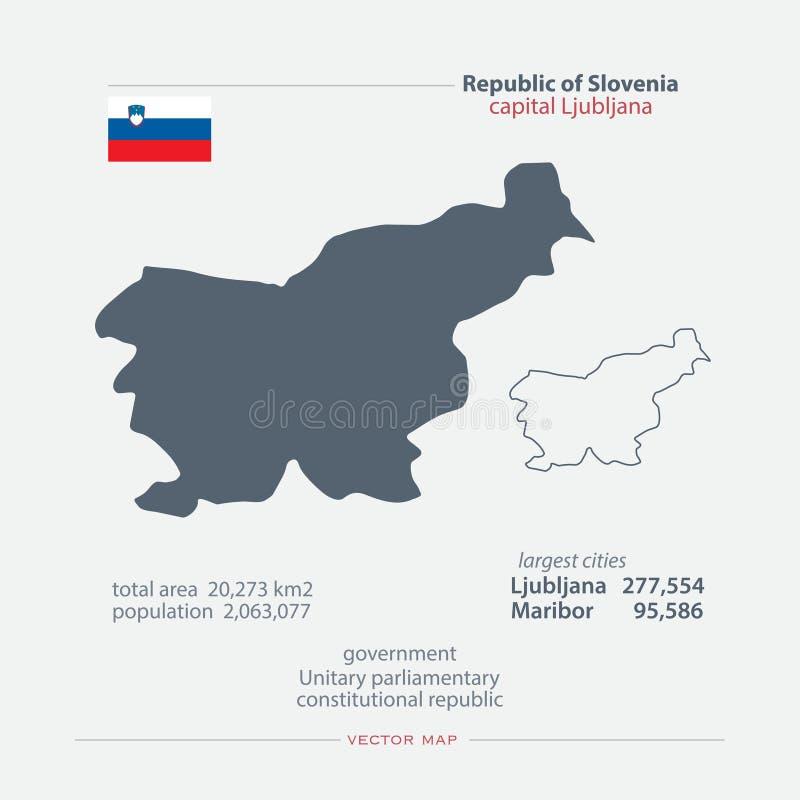 Σλοβενία ελεύθερη απεικόνιση δικαιώματος