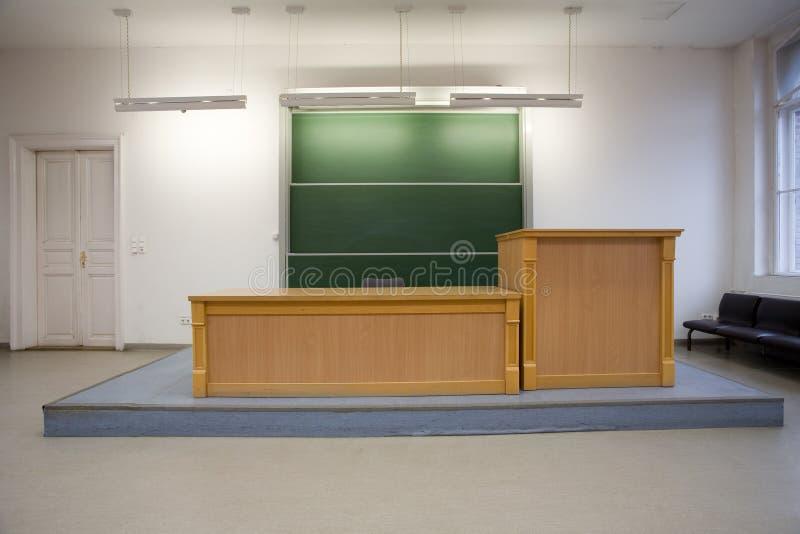 τάξη κενή στοκ φωτογραφία