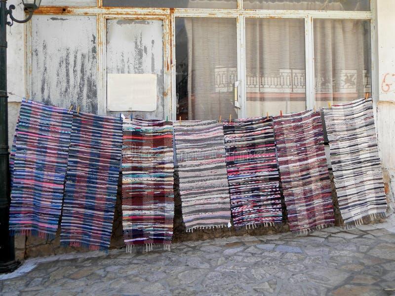 Τάπητες - Ελλάδα στοκ εικόνες με δικαίωμα ελεύθερης χρήσης