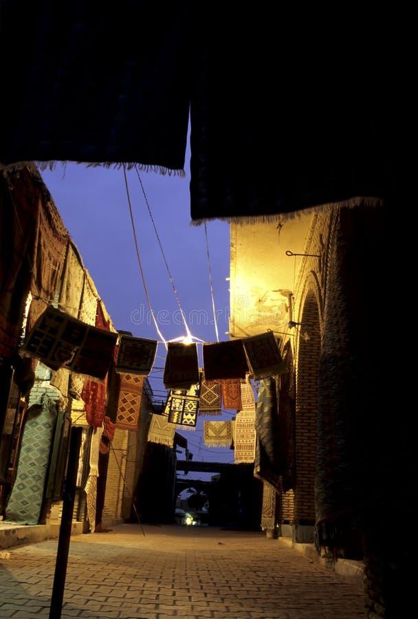 τάπητες Τυνησία στοκ εικόνα με δικαίωμα ελεύθερης χρήσης