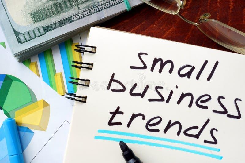 Τάσεις μικρών επιχειρήσεων στοκ εικόνες
