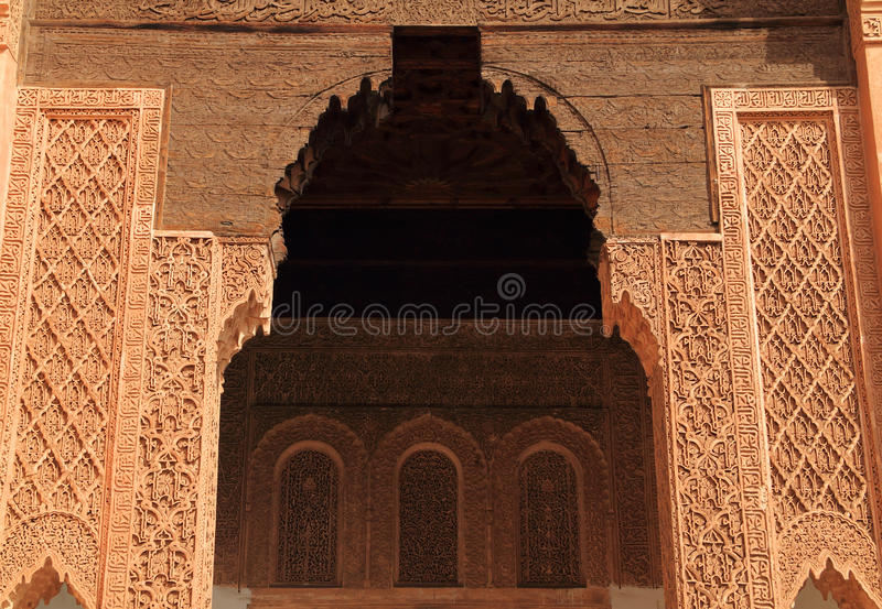 Τάφοι Saadian στοκ φωτογραφία με δικαίωμα ελεύθερης χρήσης