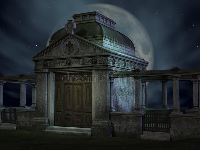 τάφος αποκριών διανυσματική απεικόνιση