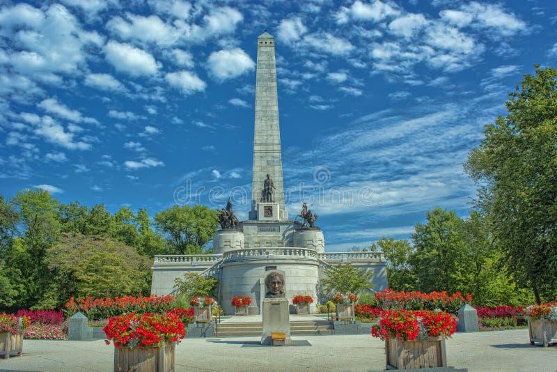 Τάφος του Abraham Lincoln ` s στοκ φωτογραφία με δικαίωμα ελεύθερης χρήσης