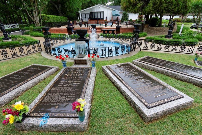 Τάφος του Elvis Presley στοκ εικόνες