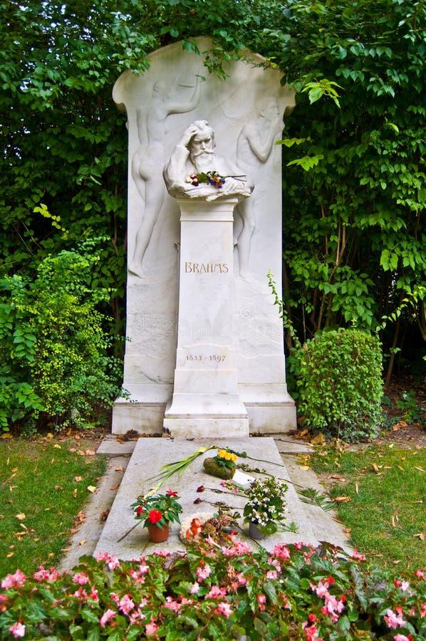Τάφος Brahms στοκ φωτογραφίες