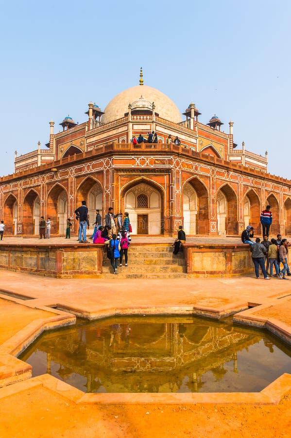 Τάφος Humayun σύνθετος, ο τάφος του αυτοκράτορα Humayun Mughal μέσα στοκ φωτογραφία με δικαίωμα ελεύθερης χρήσης