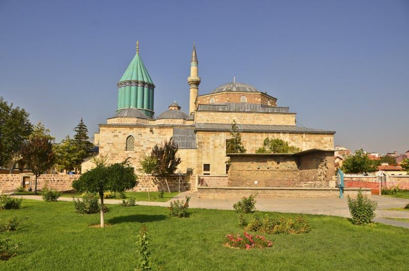 Τάφος Mevlana στοκ φωτογραφία με δικαίωμα ελεύθερης χρήσης