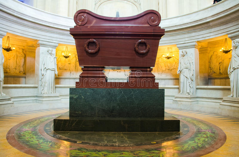 Τάφος Napoleon Bonaparte στοκ εικόνα με δικαίωμα ελεύθερης χρήσης