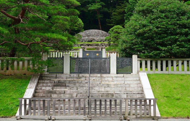 Τάφος Tenmei ` s αυτοκρατειρών, Hachioji, Ιαπωνία στοκ εικόνες