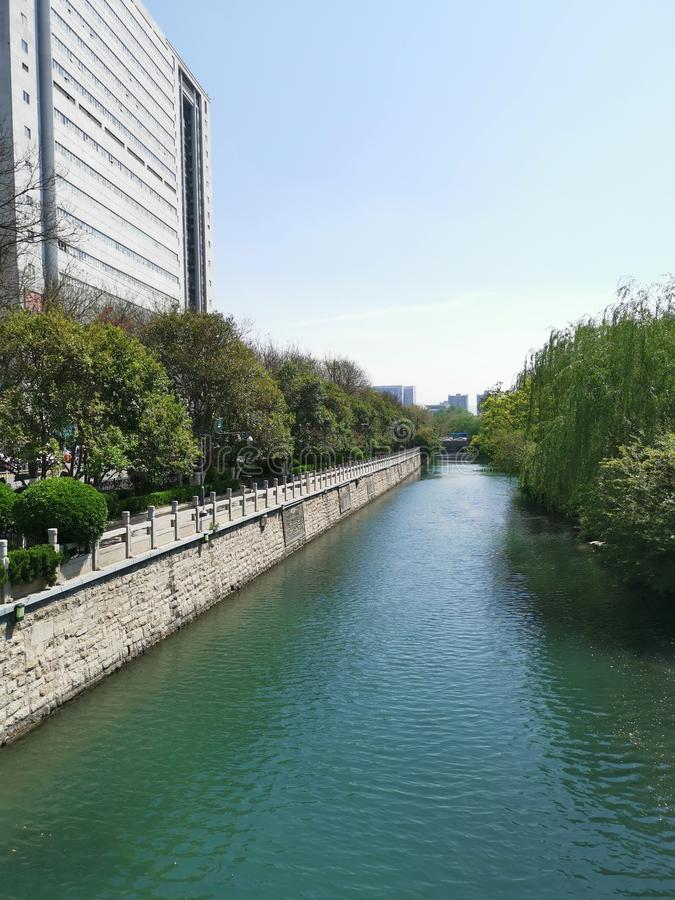 Τάφρος @ Jinan, Shandong Κίνα στοκ εικόνες με δικαίωμα ελεύθερης χρήσης