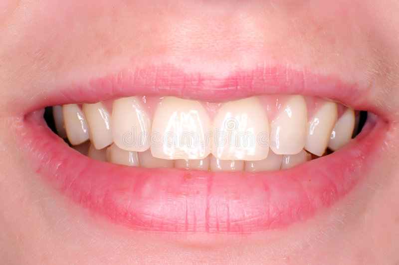 τέλεια δόντια στοκ εικόνες