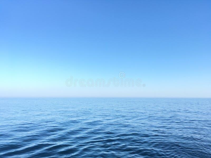 Τέλεια θάλασσα στοκ εικόνες