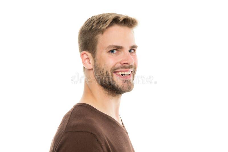 Τέλειες τακτοποιώντας άκρες σκληρών τριχών Κομμωτής κουρέων και μόνη προσοχή Αρσενικές μόδα και ομορφιά Γενειοφόρος τακτοποίηση h στοκ εικόνα
