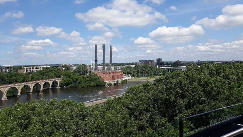 Τέλειος ουρανός Minnesotas στοκ φωτογραφία με δικαίωμα ελεύθερης χρήσης