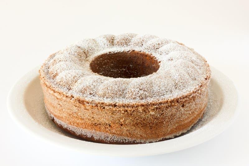 Τέλειο κέικ σφουγγαριών στοκ φωτογραφία
