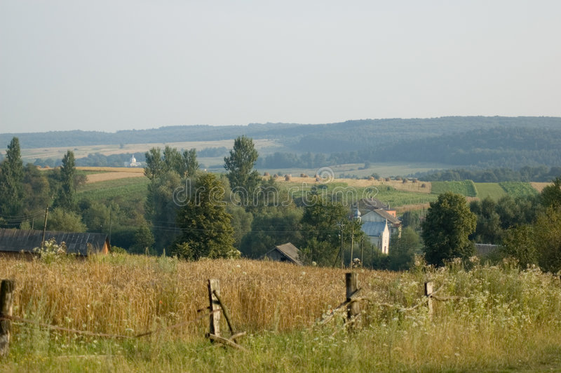 τέλειο χωριό στοκ εικόνα με δικαίωμα ελεύθερης χρήσης