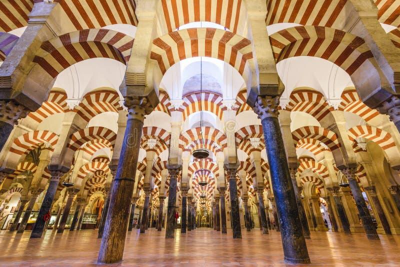 Τέμενος-καθεδρικός ναός της Κόρδοβα, Ισπανία στοκ φωτογραφία με δικαίωμα ελεύθερης χρήσης