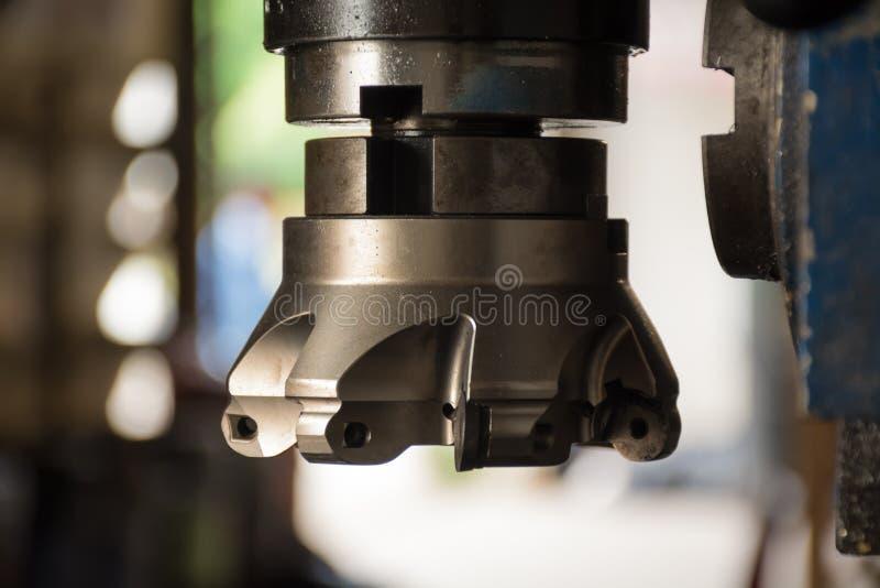 Τέμνον εργαλείο άλεσης για τη διαδικασία μηχανών εργασίας στοκ φωτογραφία με δικαίωμα ελεύθερης χρήσης
