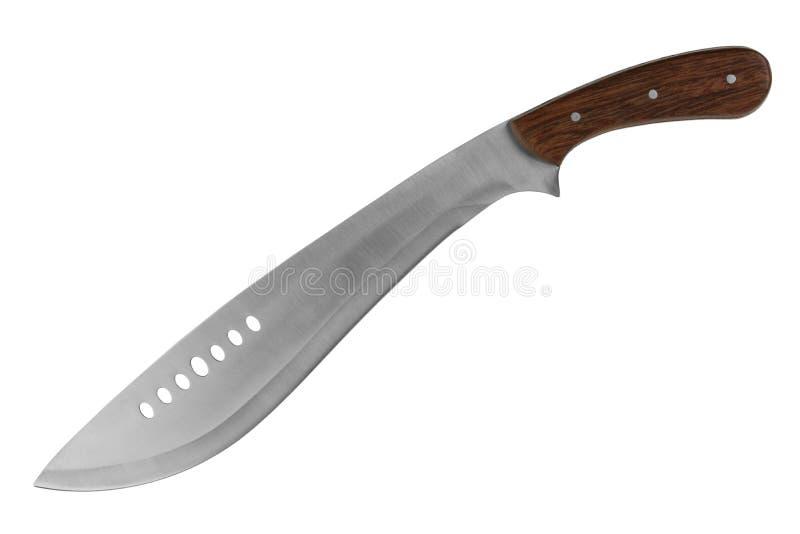 τέμνον μεγάλο μαχαίρι χλόης στοκ φωτογραφίες