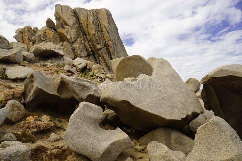 Τέσλα Capo στη Σαρδηνία Ιταλία στοκ εικόνες
