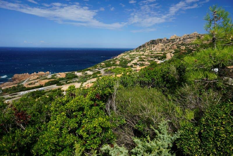 Τέσλα Capo στη Σαρδηνία Ιταλία στοκ φωτογραφίες με δικαίωμα ελεύθερης χρήσης