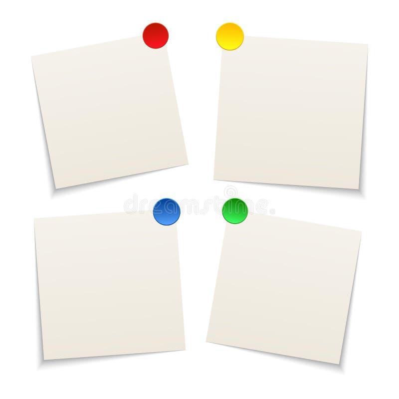 τέσσερα φύλλα εγγράφου απεικόνιση αποθεμάτων