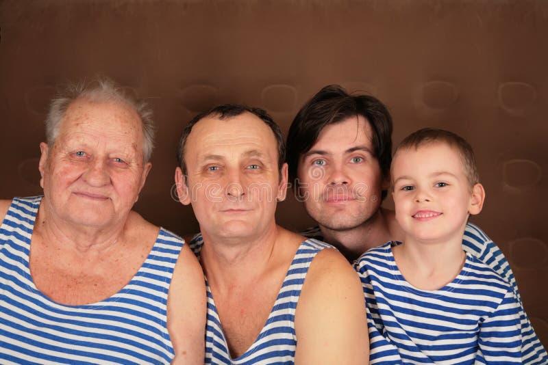 τέσσερις γενεές φορεμάτ&ome στοκ εικόνες με δικαίωμα ελεύθερης χρήσης