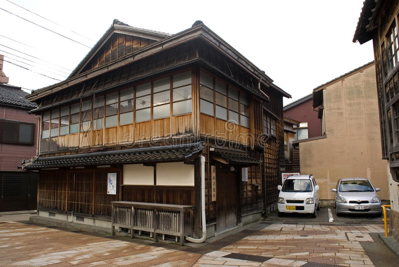 Τέταρτο γκείσων, Kanazawa, Ιαπωνία στοκ φωτογραφία με δικαίωμα ελεύθερης χρήσης