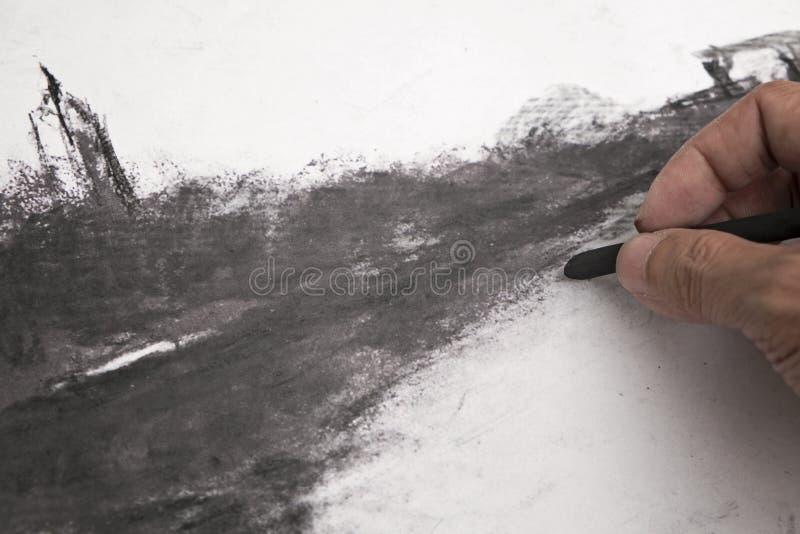 Τέχνες ξυλάνθρακα στοκ φωτογραφίες με δικαίωμα ελεύθερης χρήσης
