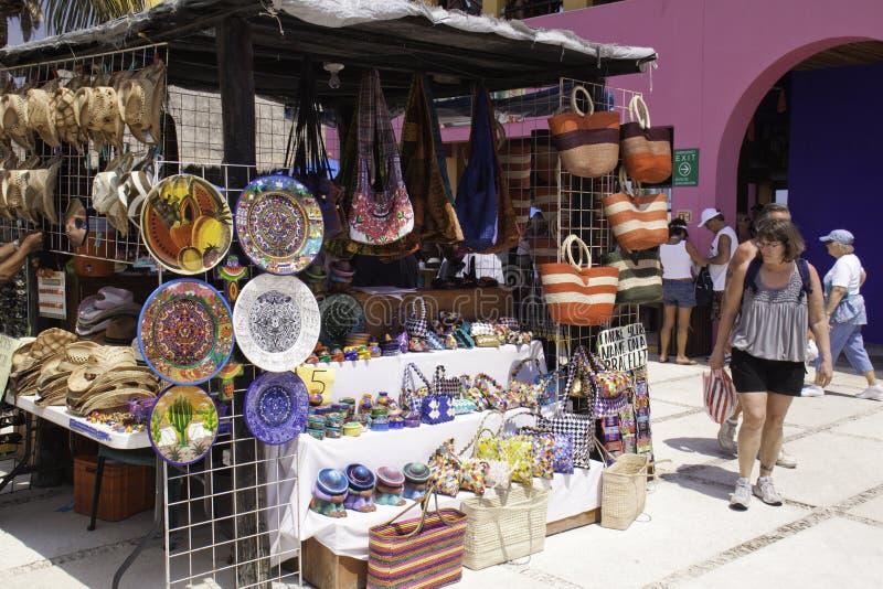 τέχνες maya Μεξικό πλευρών τεχ στοκ εικόνες