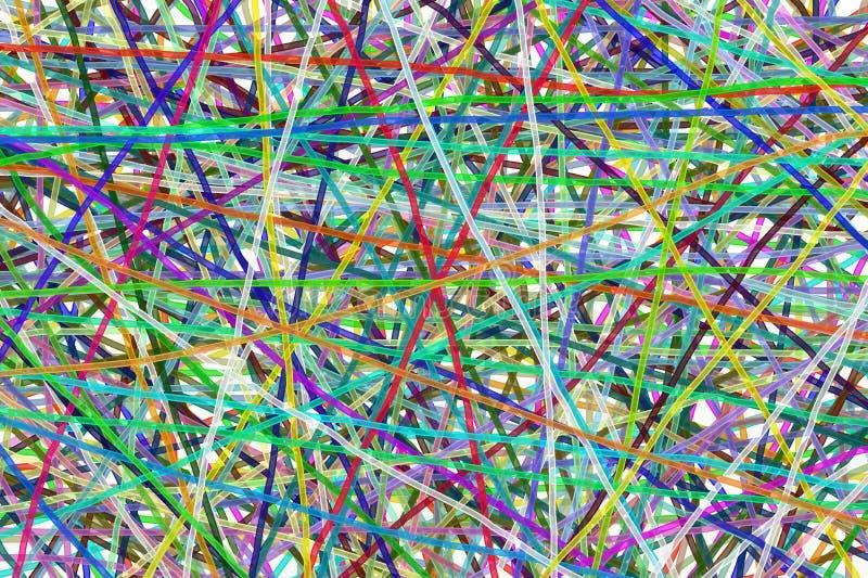Τέχνη γραμμών χρώματος στοκ φωτογραφία με δικαίωμα ελεύθερης χρήσης