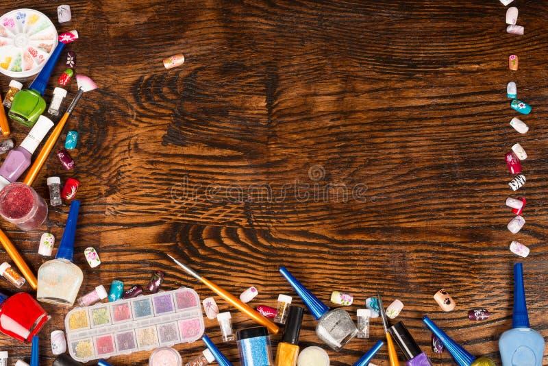 Τέχνη καρφιών στοκ εικόνες με δικαίωμα ελεύθερης χρήσης