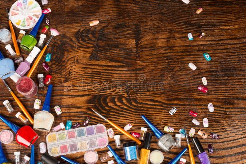 Τέχνη καρφιών στοκ φωτογραφίες με δικαίωμα ελεύθερης χρήσης