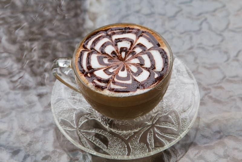Τέχνη/καφές Latte στοκ φωτογραφία με δικαίωμα ελεύθερης χρήσης