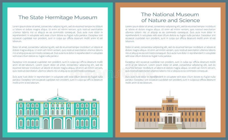 Τέχνη κρατικών ερημητηρίων και πολιτισμός, Εθνικό Μουσείο απεικόνιση αποθεμάτων