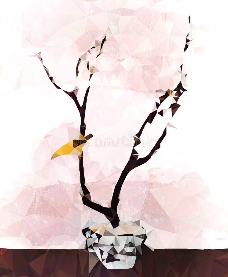 Τέχνη μπονσάι στοκ φωτογραφία
