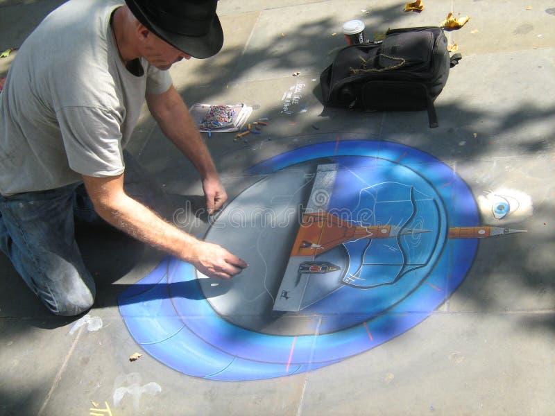 Τέχνη οδών στο Λονδίνο στοκ φωτογραφία με δικαίωμα ελεύθερης χρήσης