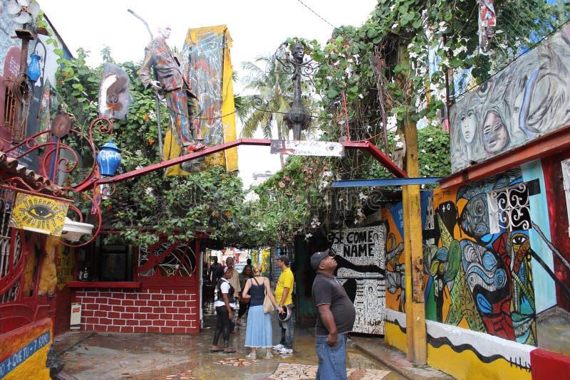 Τέχνη οδών του Σαλβαδόρ Gonzales στοκ φωτογραφίες