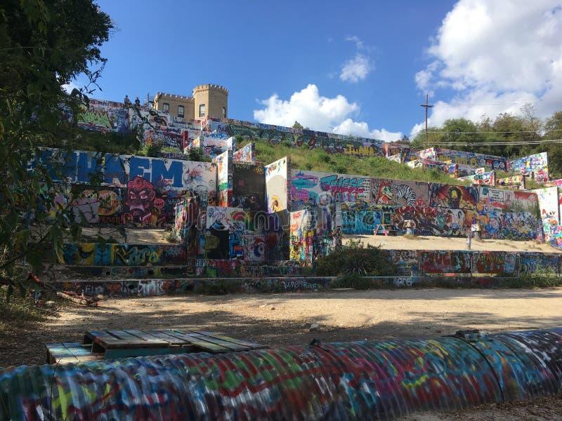 Τέχνη οδών του Ώστιν στοκ φωτογραφία με δικαίωμα ελεύθερης χρήσης