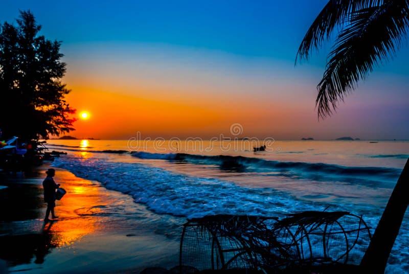 Τέχνη της θάλασσας, suan γιος καπέλων, Rayong στοκ φωτογραφία με δικαίωμα ελεύθερης χρήσης