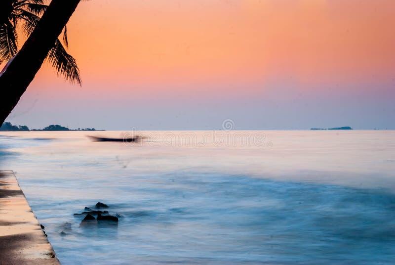 Τέχνη της θάλασσας, suan γιος καπέλων, Rayong στοκ εικόνες