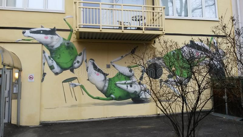 Τέχνη τοίχων στοκ φωτογραφία με δικαίωμα ελεύθερης χρήσης