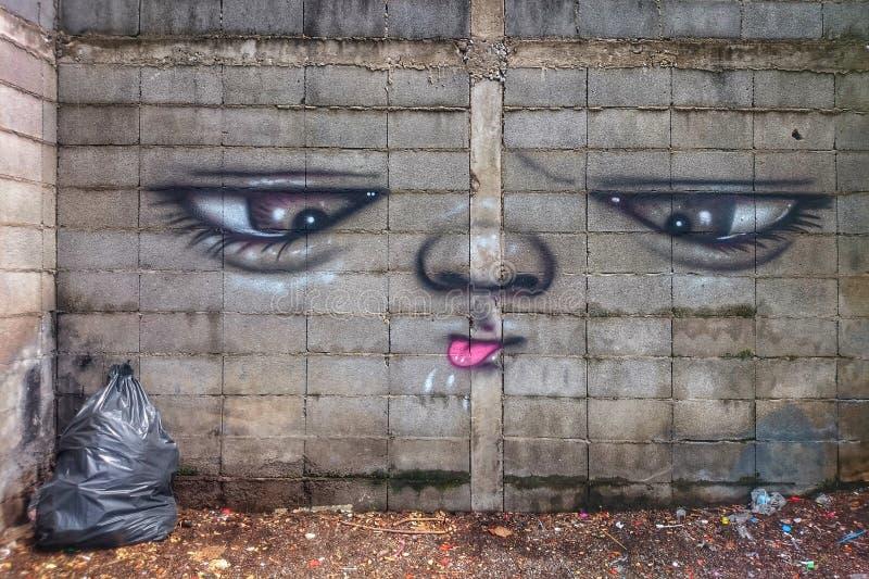 Τέχνη τοίχων στοκ εικόνες