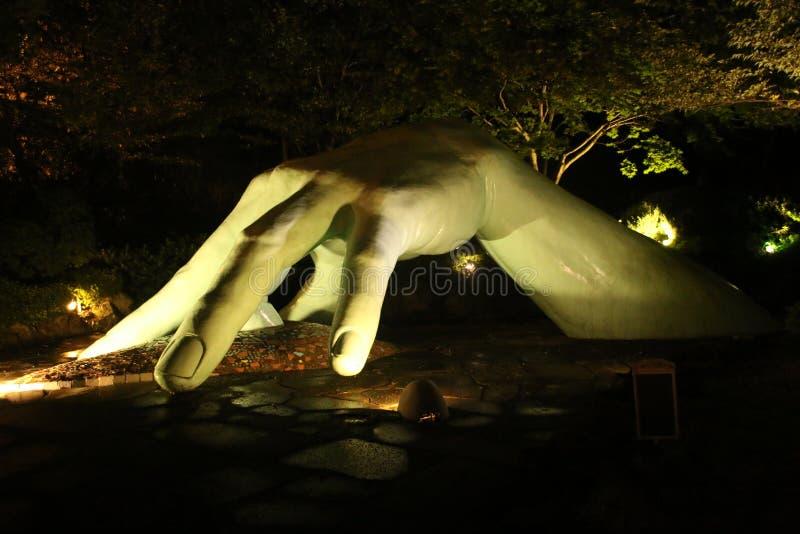 Τέχνη του ανθρώπινου χεριού στοκ φωτογραφία με δικαίωμα ελεύθερης χρήσης