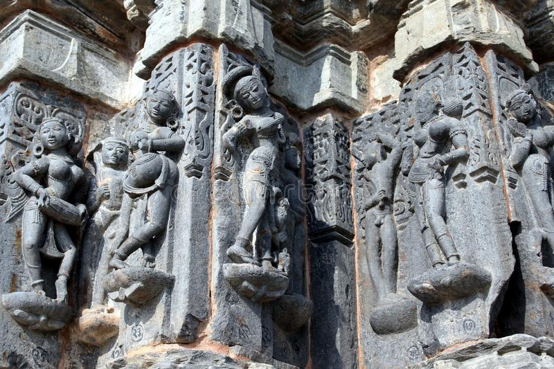 Τέχνη του ναού arthuna στοκ φωτογραφία με δικαίωμα ελεύθερης χρήσης