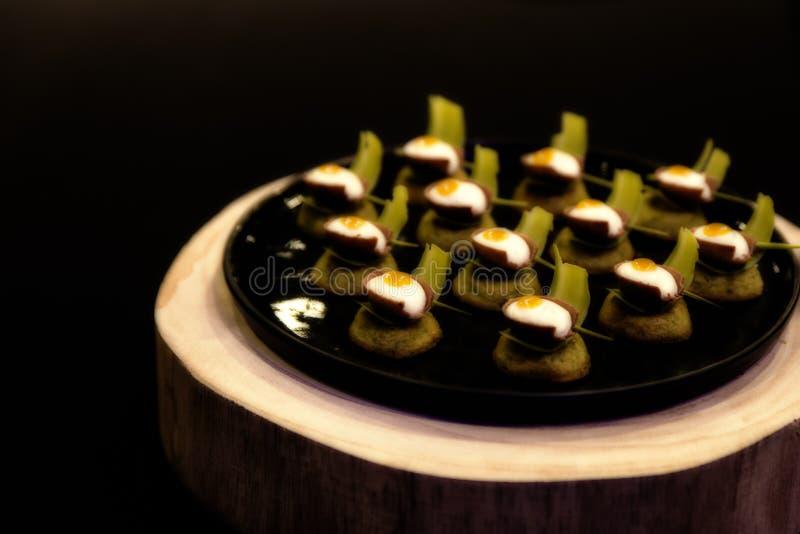 Τέχνη τροφίμων, αυγά Πάσχας στοκ φωτογραφία με δικαίωμα ελεύθερης χρήσης