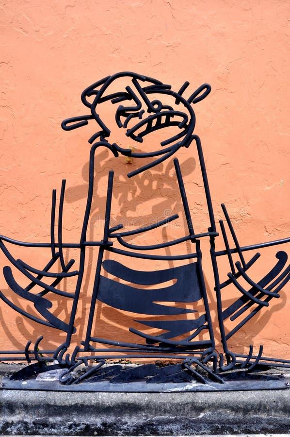 """Τέχνη """"Kandar† οδών Penang στοκ εικόνες"""