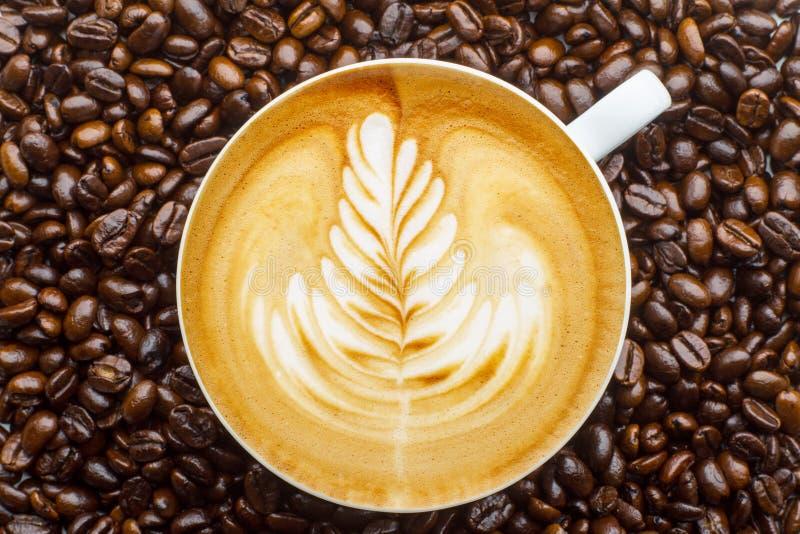 Τέχνη Latte στοκ φωτογραφίες με δικαίωμα ελεύθερης χρήσης