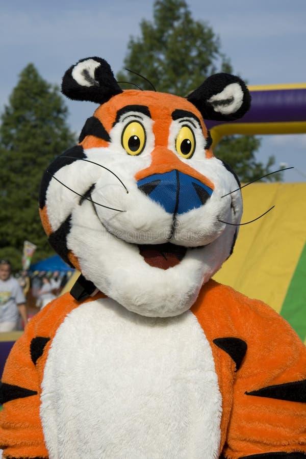 τίγρη μασκότ tony στοκ εικόνα